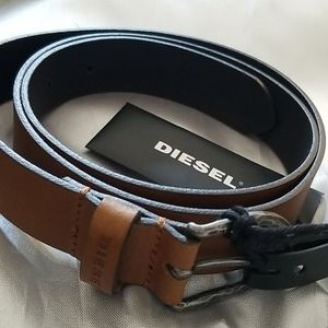 Diesel Mina 1 Light Brown Belt